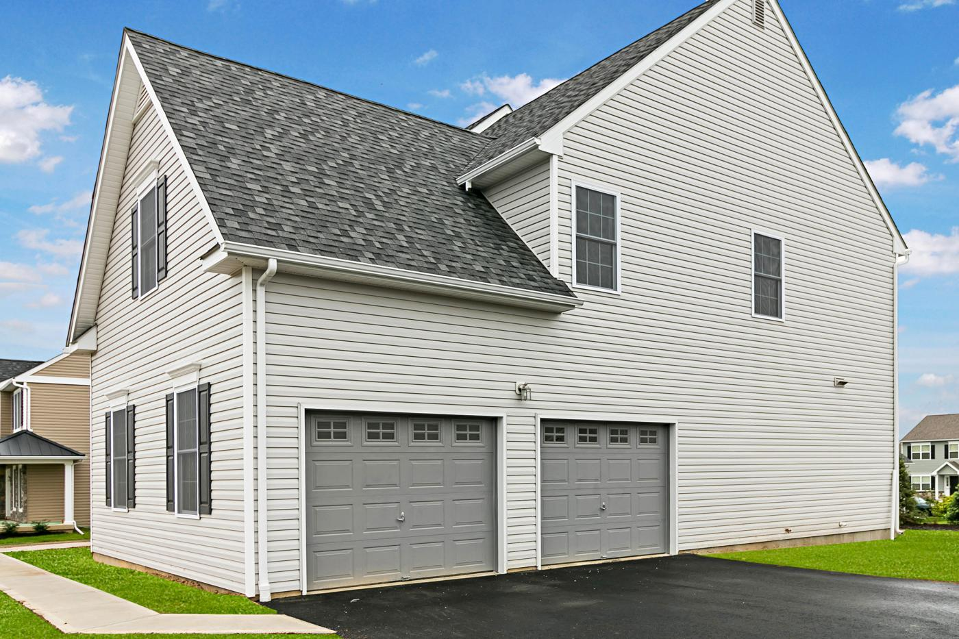 Exterior featured in the Breckenridge Traditional By Tuskes Homes in Scranton-Wilkes-Barre, PA