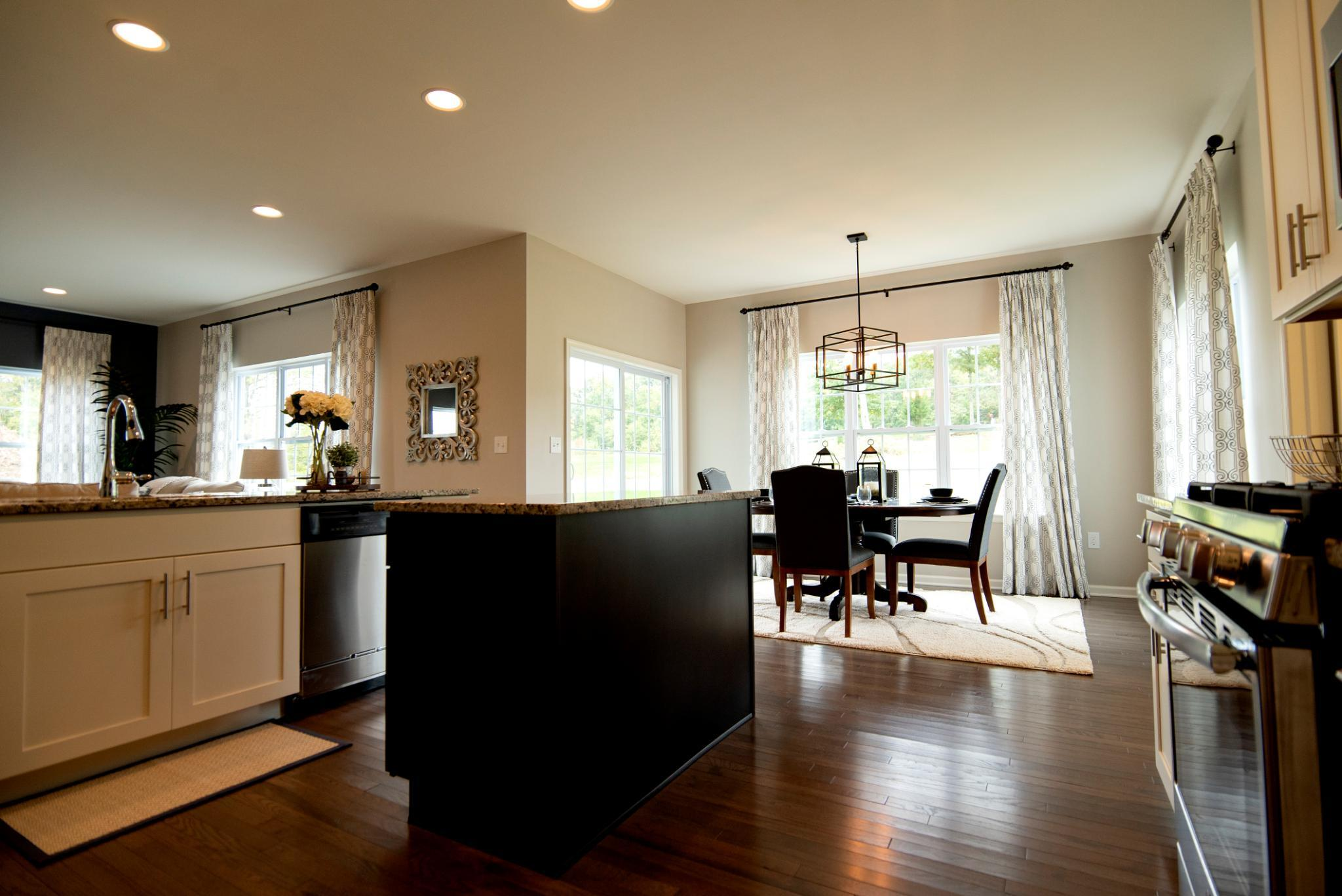 Kitchen featured in the Kingston Traditional By Tuskes Homes in Allentown-Bethlehem, PA