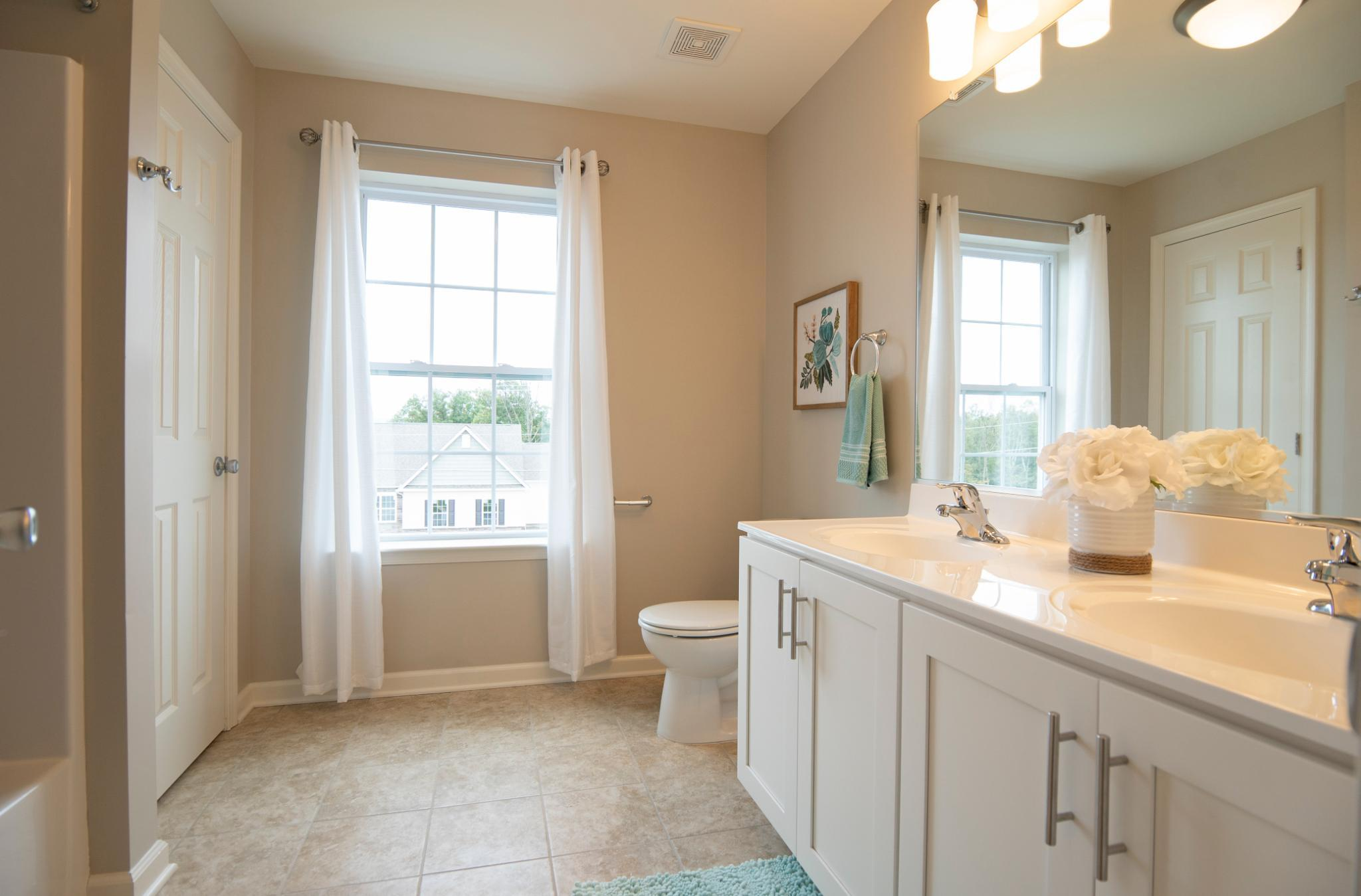 Bathroom featured in the Kingston Traditional By Tuskes Homes in Allentown-Bethlehem, PA