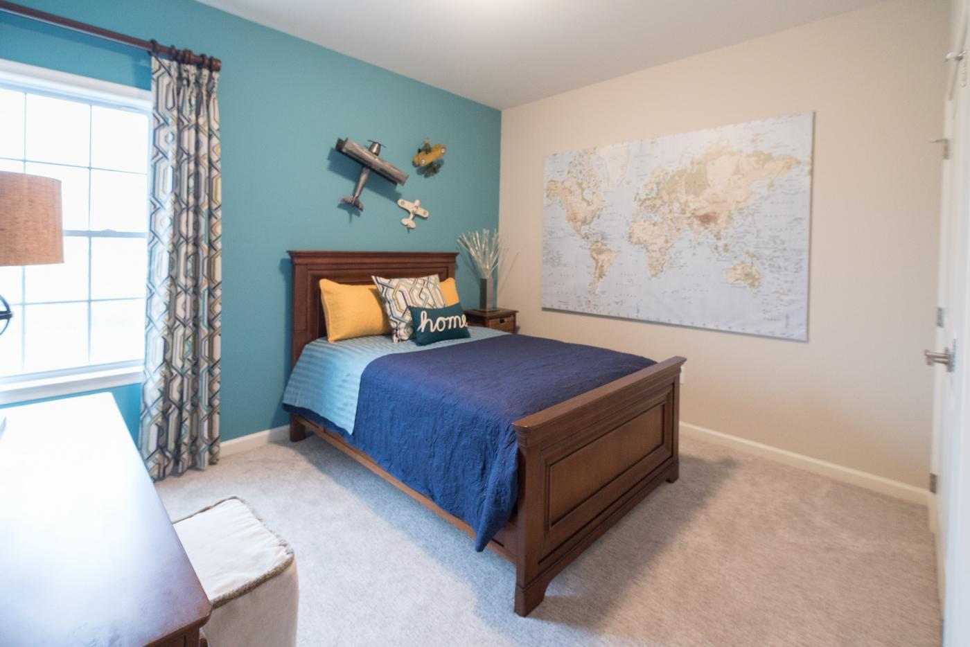Bedroom featured in the Meridian Traditional By Tuskes Homes in Allentown-Bethlehem, PA