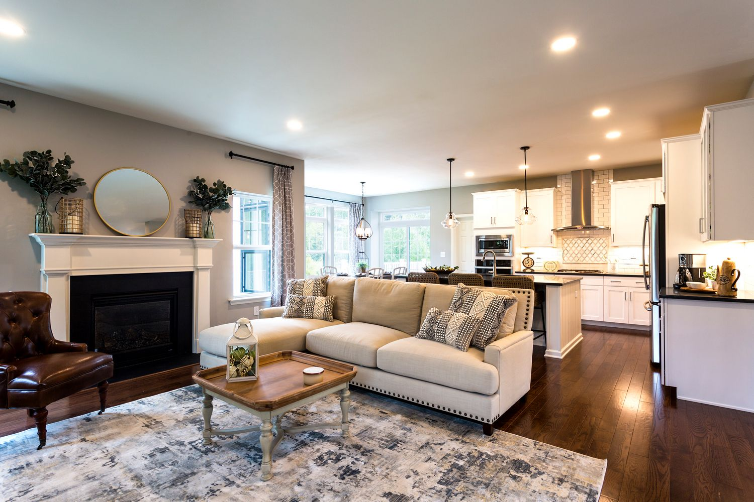 Living Area featured in the Bellwood Country By Tuskes Homes in Allentown-Bethlehem, PA
