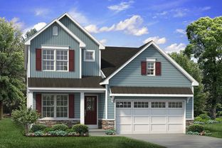 Franklyn Traditional - Ridings at Parkland: Schnecksville, Pennsylvania - Tuskes Homes