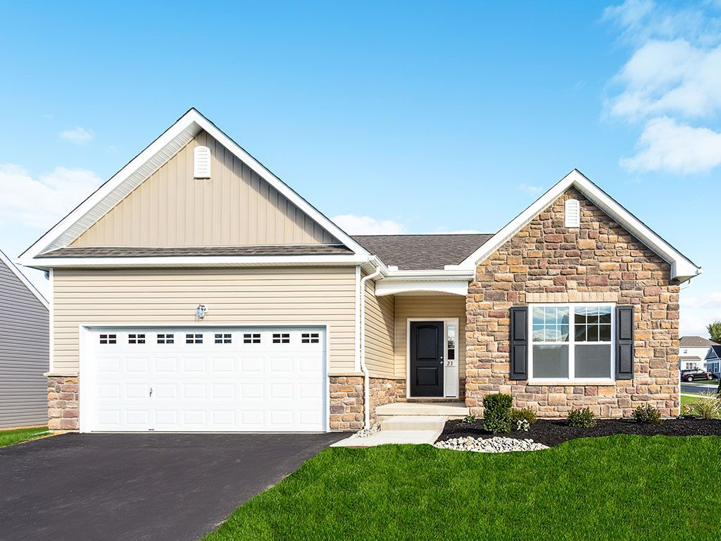 Exterior featured in the Pinehurst Country By Tuskes Homes in Scranton-Wilkes-Barre, PA