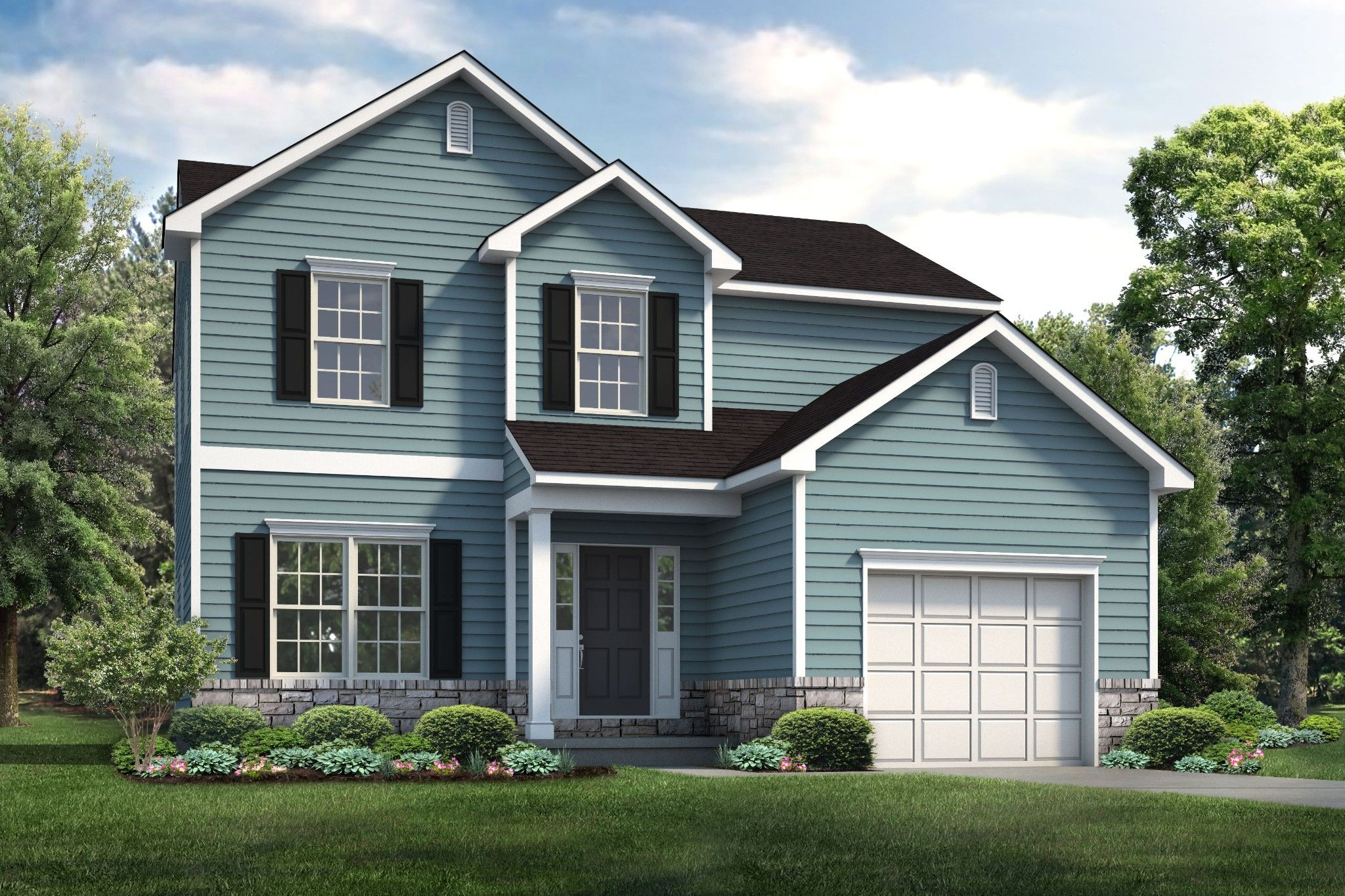 Exterior featured in the Birchwood By Tuskes Homes in Scranton-Wilkes-Barre, PA