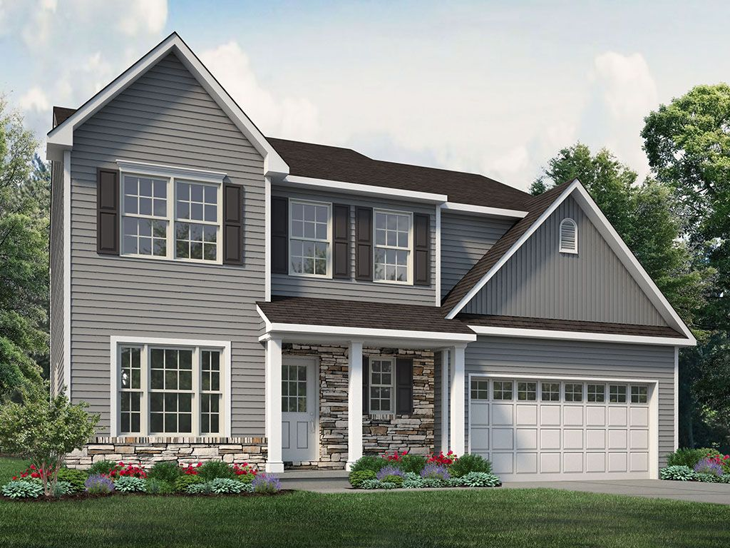 Exterior featured in the Madison Traditional at Sand Springs By Tuskes Homes