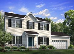Chapman Traditional - Oxford Ridge: Coopersburg, Pennsylvania - Tuskes Homes