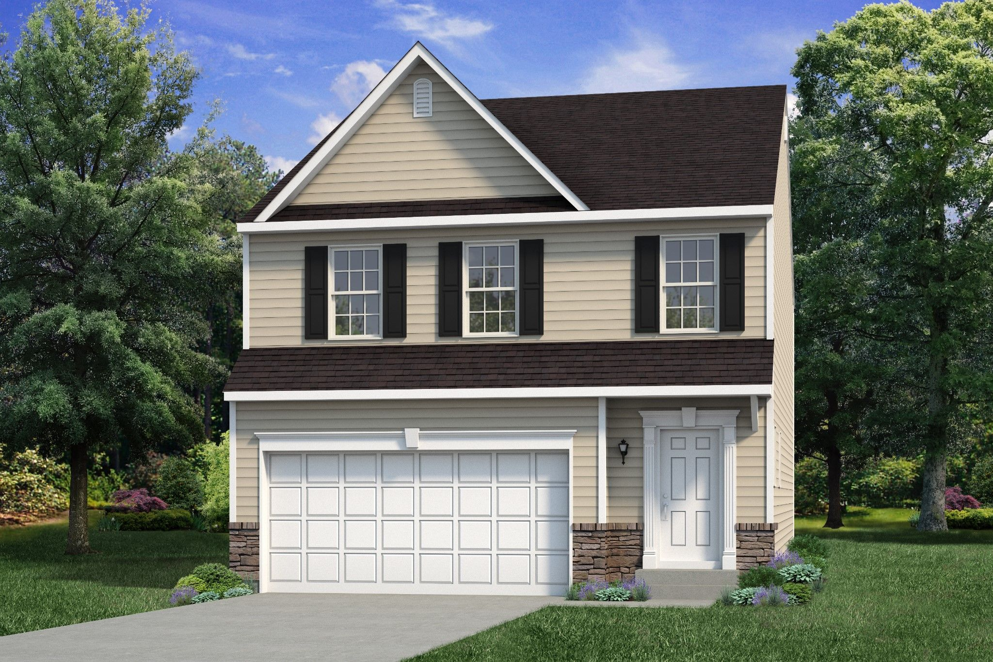 Exterior featured in the Nittany By Tuskes Homes in Scranton-Wilkes-Barre, PA