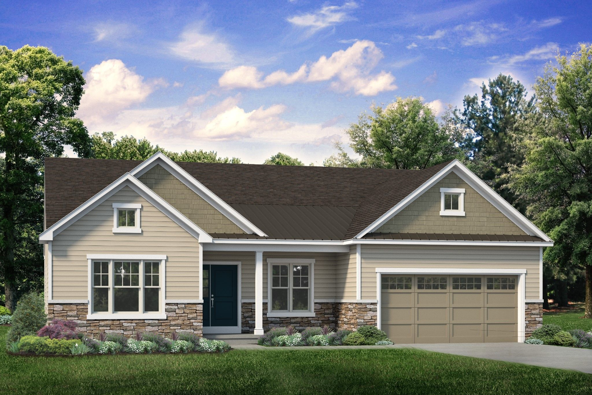 Exterior featured in the Folino Craftsman By Tuskes Homes in Scranton-Wilkes-Barre, PA