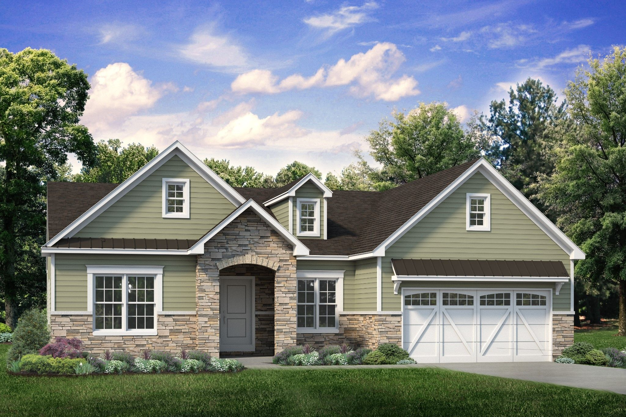 Exterior featured in the Folino Cottage By Tuskes Homes in Scranton-Wilkes-Barre, PA