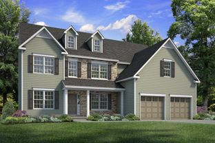 Breckenridge Grande Farmhouse - Northwood Farms: Easton, Pennsylvania - Tuskes Homes