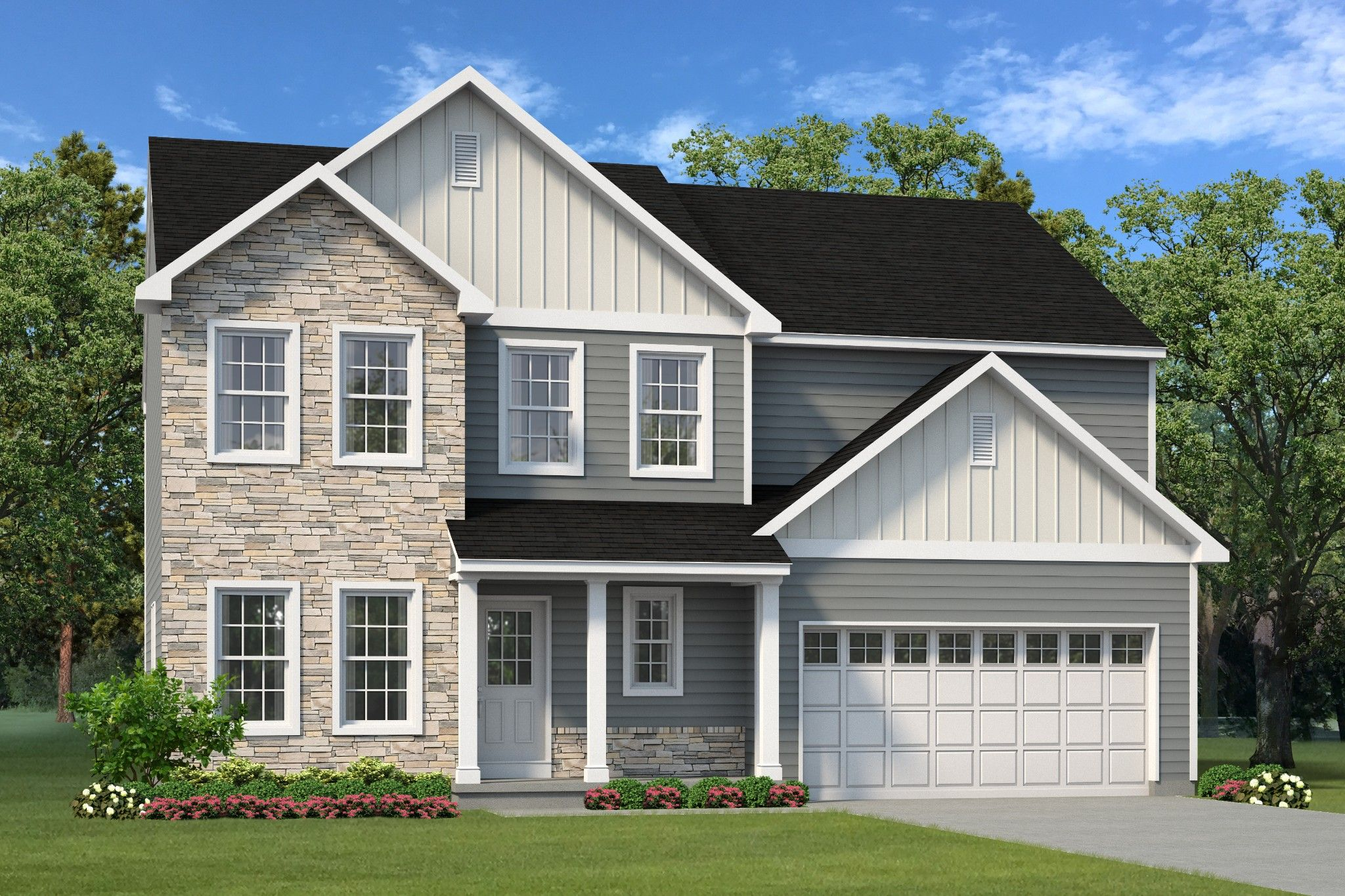 Exterior featured in the Morgan Country By Tuskes Homes in Allentown-Bethlehem, PA