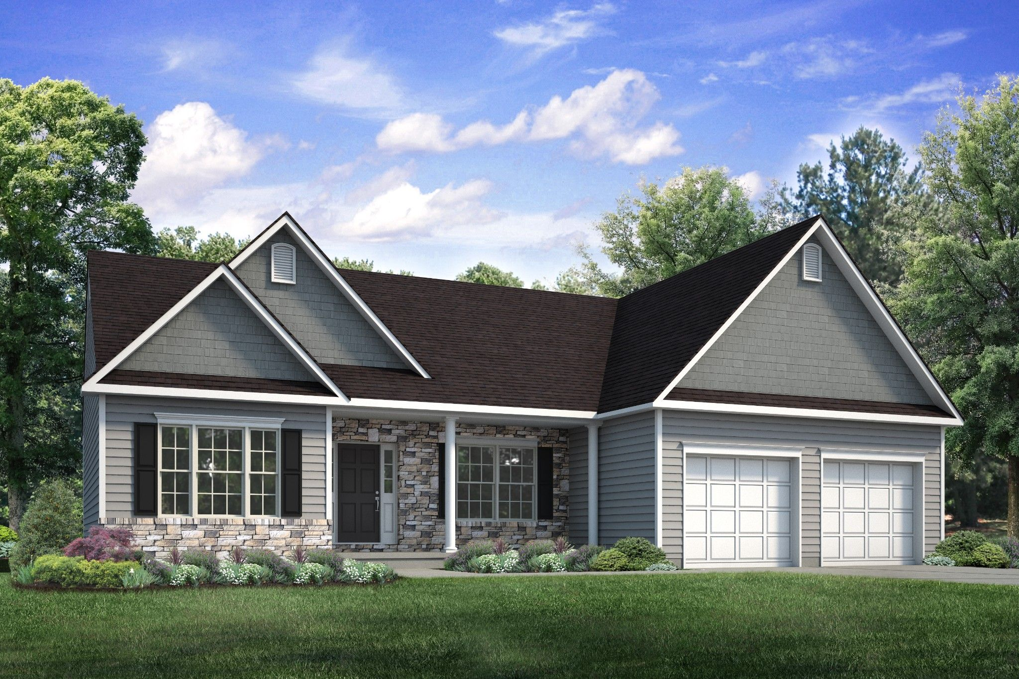 Exterior featured in the St. Andrews Country By Tuskes Homes in Scranton-Wilkes-Barre, PA