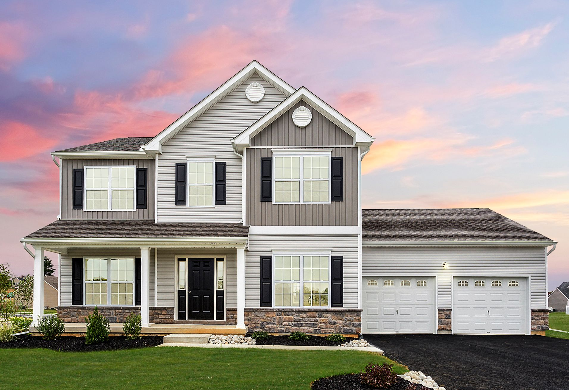 Exterior featured in the Kingston Country By Tuskes Homes in Scranton-Wilkes-Barre, PA