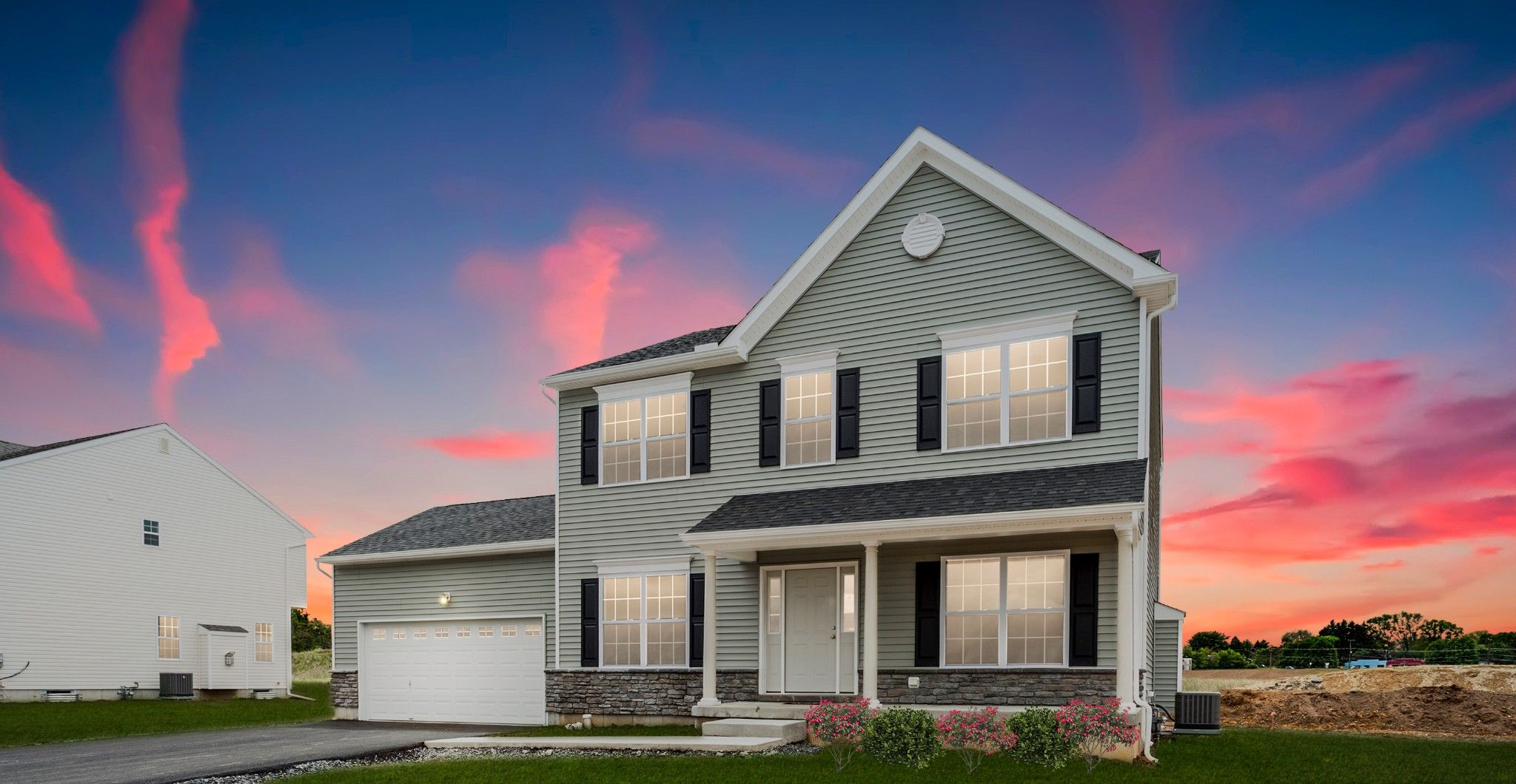 Exterior featured in the Chapman Country By Tuskes Homes in Scranton-Wilkes-Barre, PA