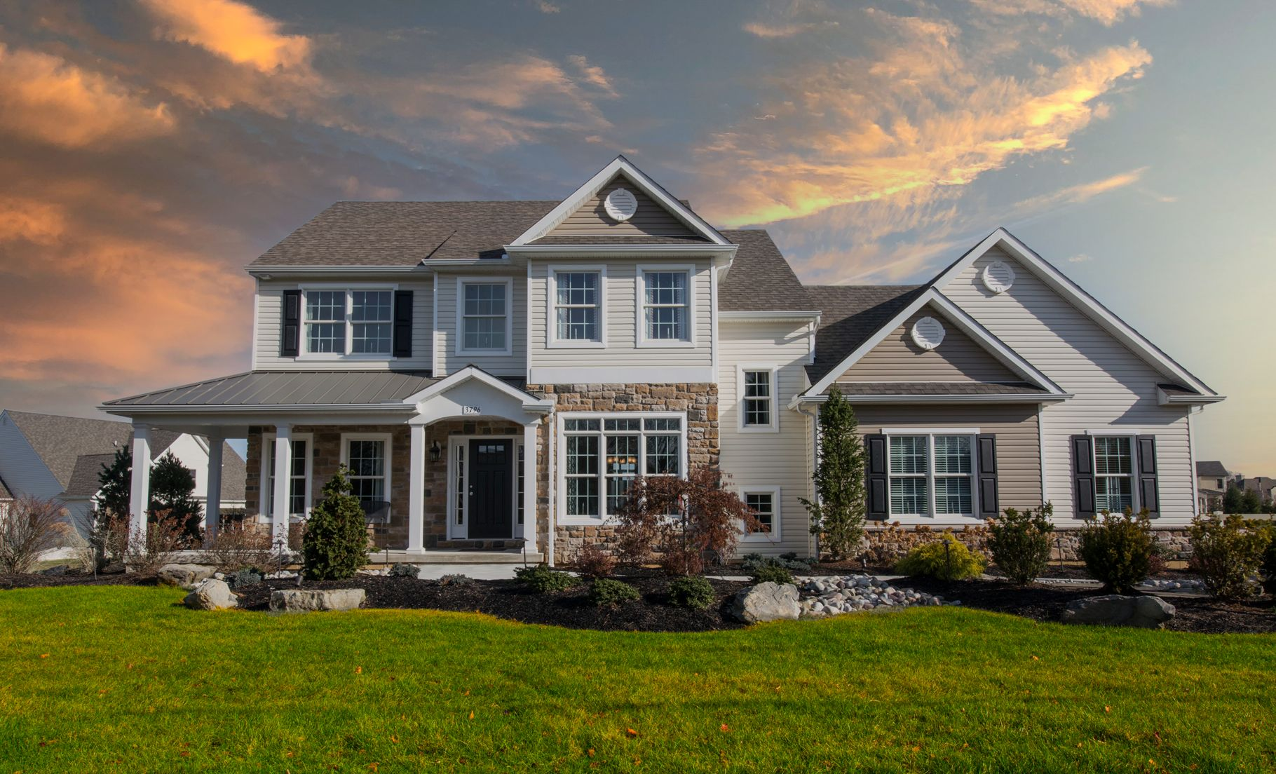 Exterior featured in the Bellwood Country By Tuskes Homes in Allentown-Bethlehem, PA