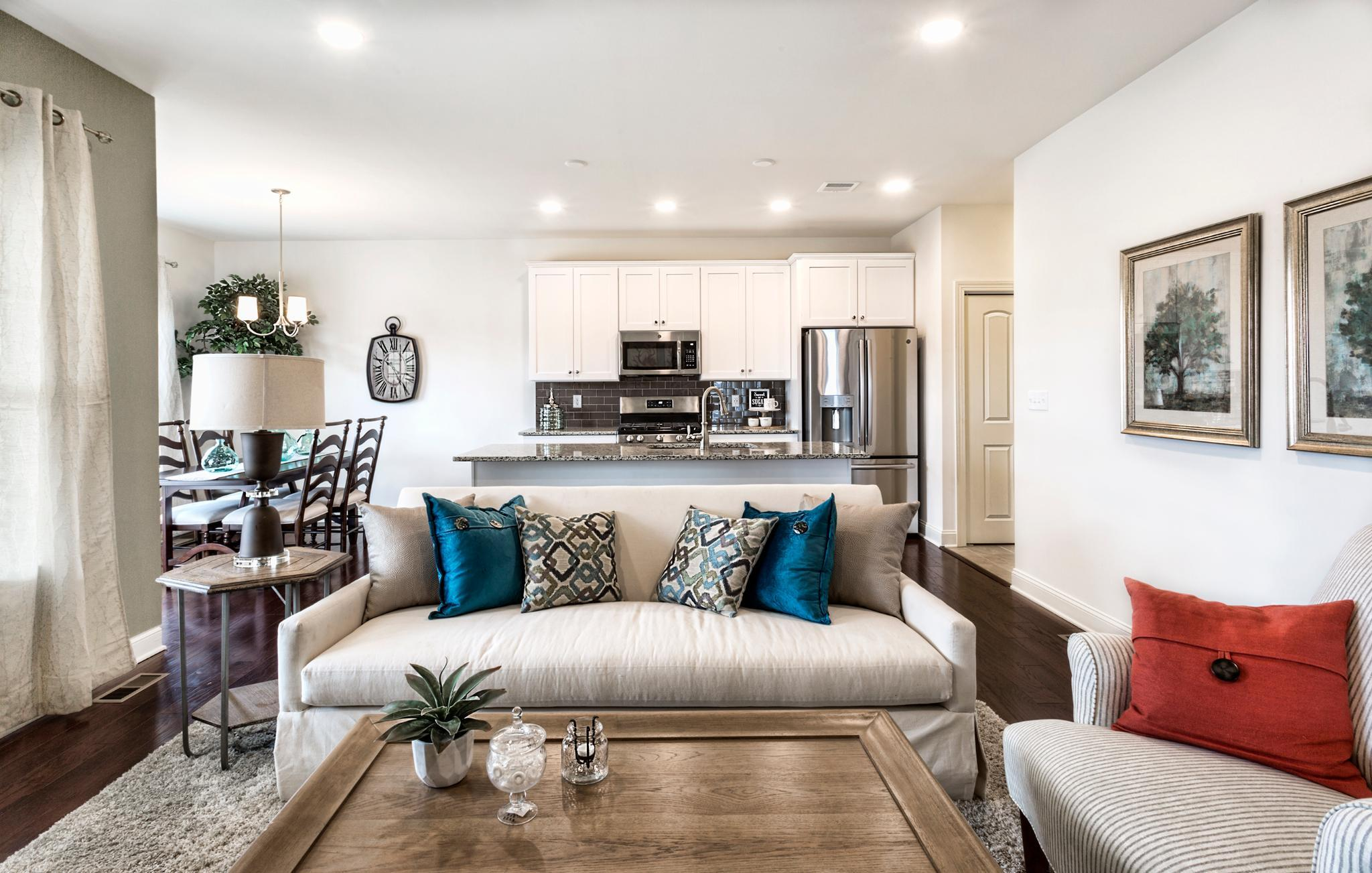 Living Area featured in the Pinehurst Traditional By Tuskes Homes in Scranton-Wilkes-Barre, PA