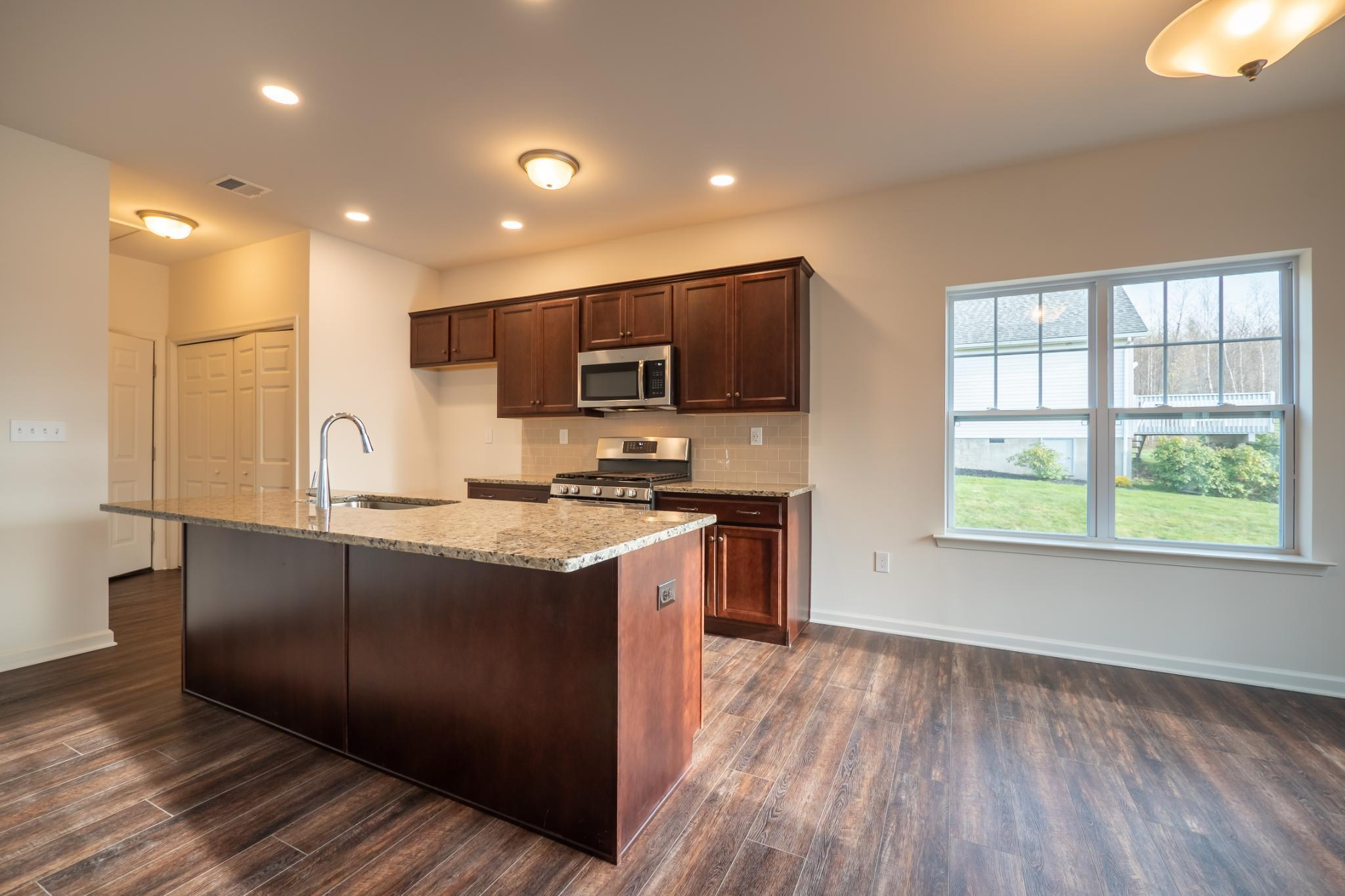Kitchen featured in the Pinehurst Traditional By Tuskes Homes in Scranton-Wilkes-Barre, PA
