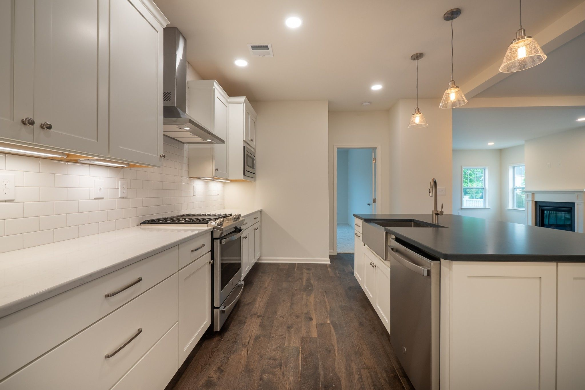 Kitchen featured in the Franklyn Traditional By Tuskes Homes in Scranton-Wilkes-Barre, PA
