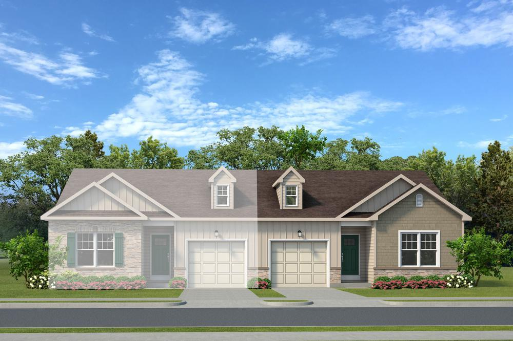 Exterior featured in the Cottages By Tuskes Homes in Scranton-Wilkes-Barre, PA