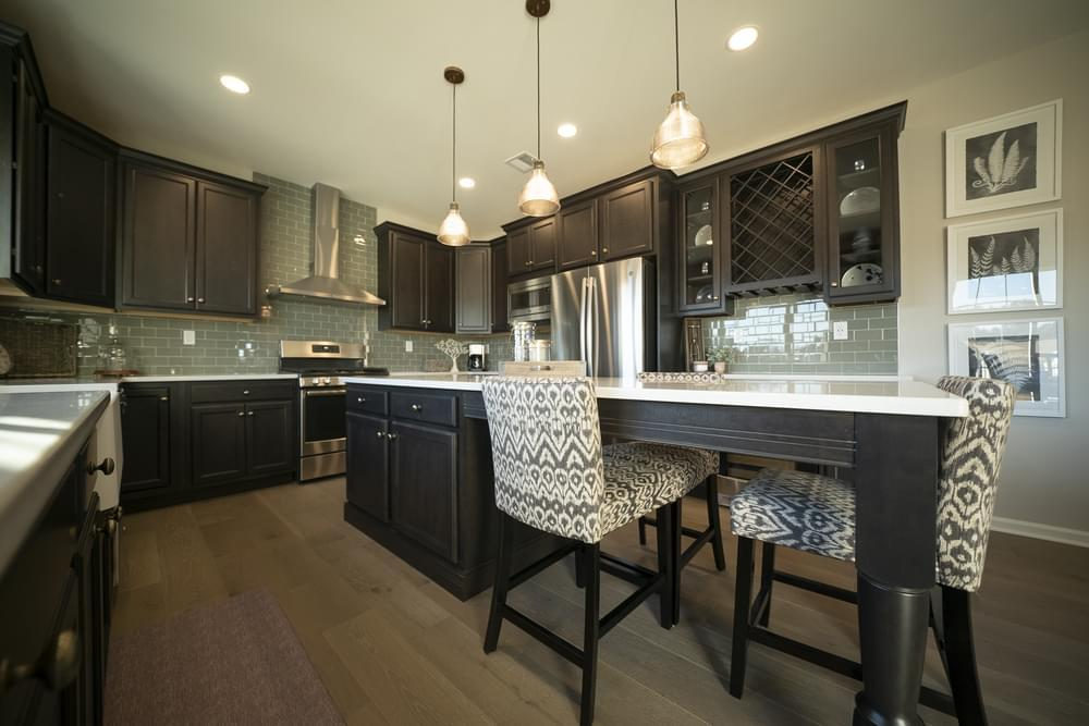 Kitchen featured in the Breckenridge Grande By Tuskes Homes in Allentown-Bethlehem, PA
