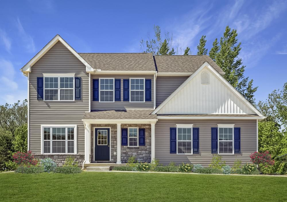 Exterior featured in the Madison By Tuskes Homes in Scranton-Wilkes-Barre, PA
