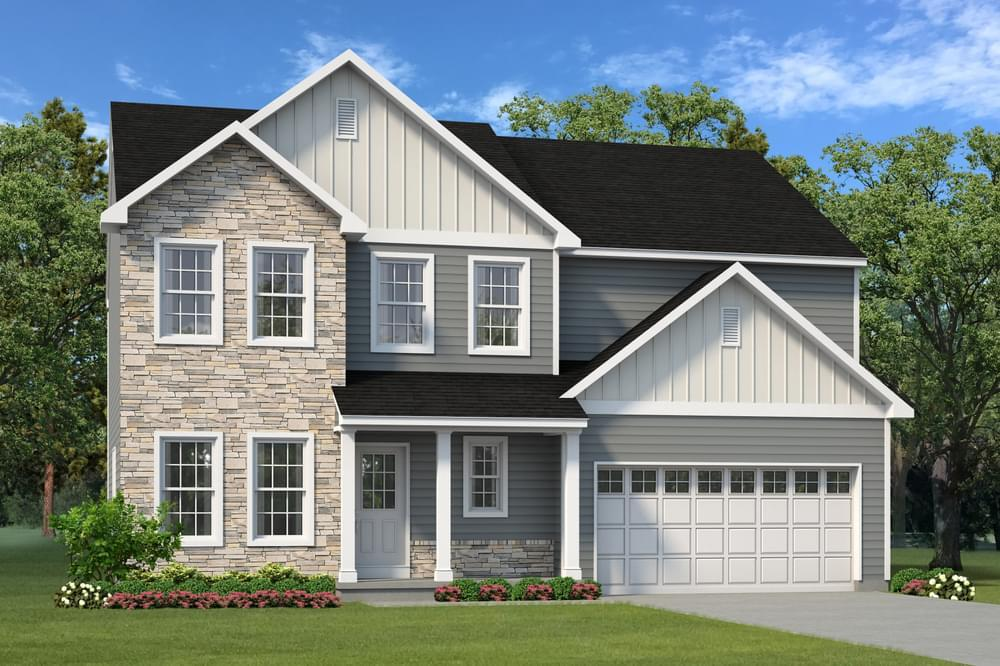 Exterior featured in the Morgan By Tuskes Homes in Scranton-Wilkes-Barre, PA