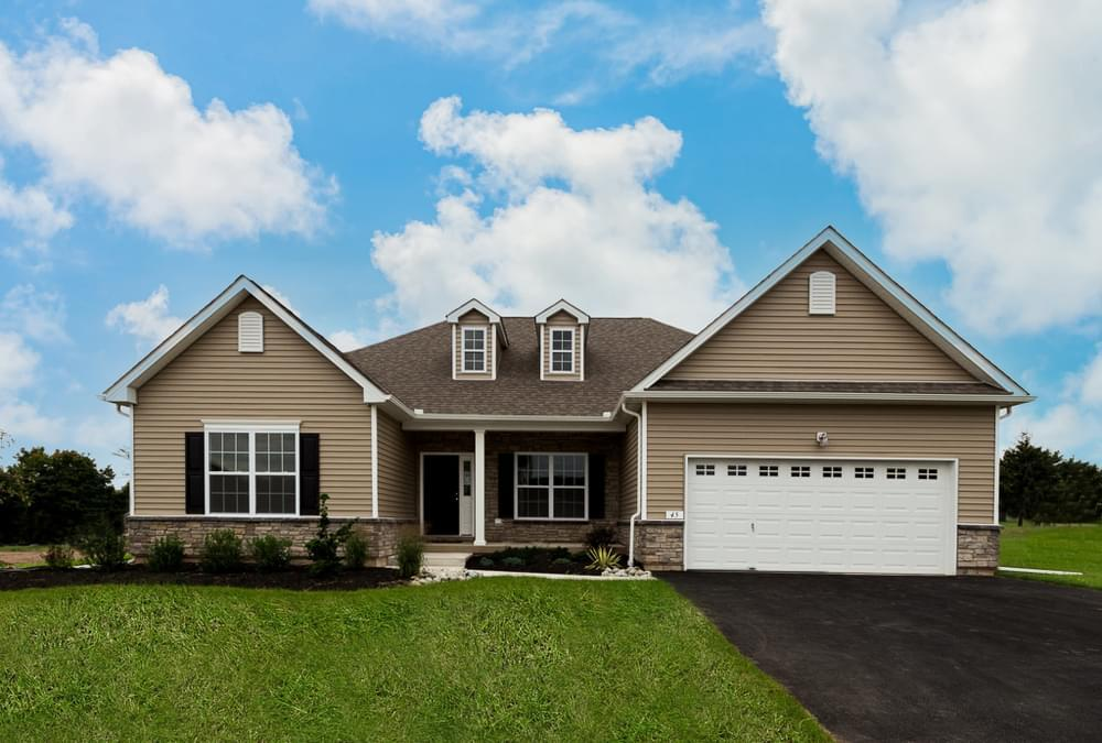 Exterior featured in the Woodbury By Tuskes Homes in Allentown-Bethlehem, PA