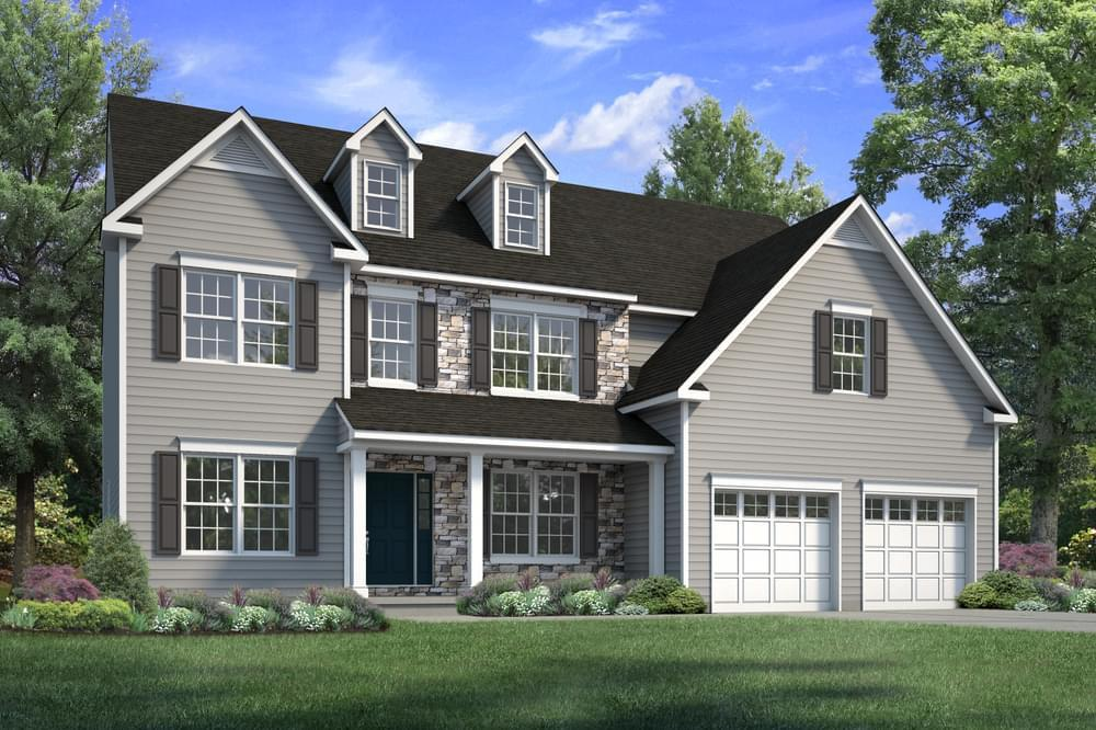 Exterior featured in the Breckenridge By Tuskes Homes in Scranton-Wilkes-Barre, PA