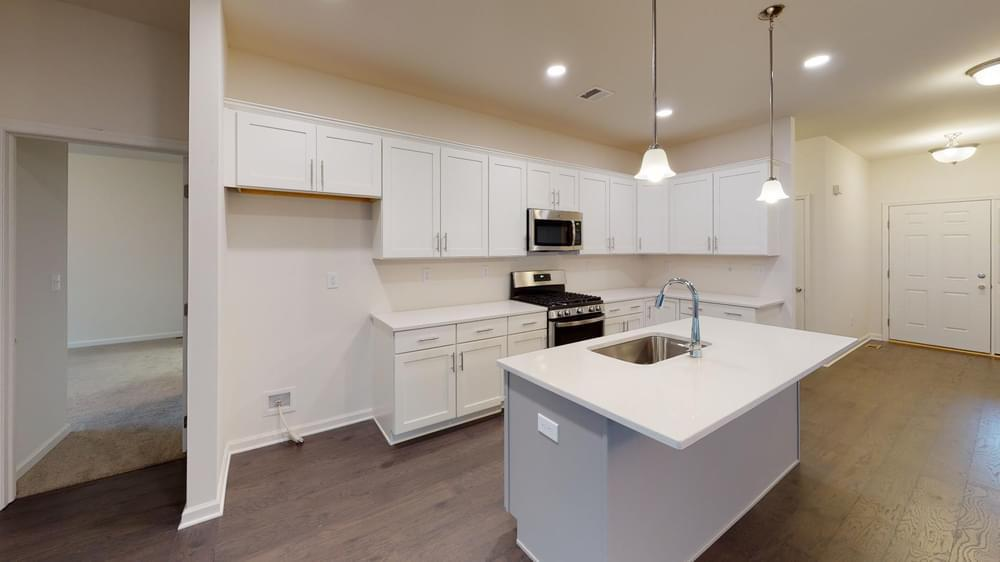 Kitchen featured in the Reserve Inglewood II By Tuskes Homes in Scranton-Wilkes-Barre, PA
