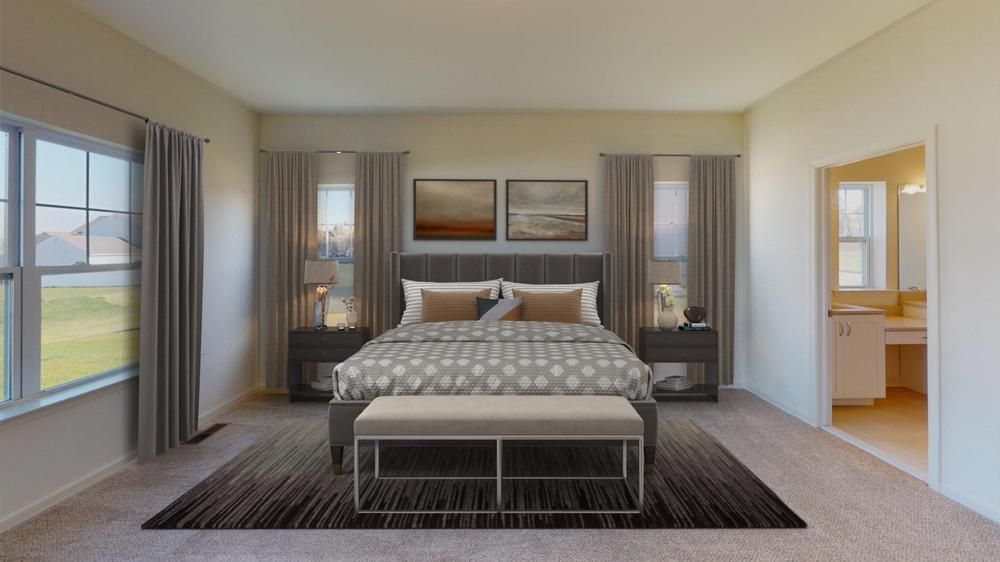 Bedroom featured in the Folino By Tuskes Homes in Scranton-Wilkes-Barre, PA