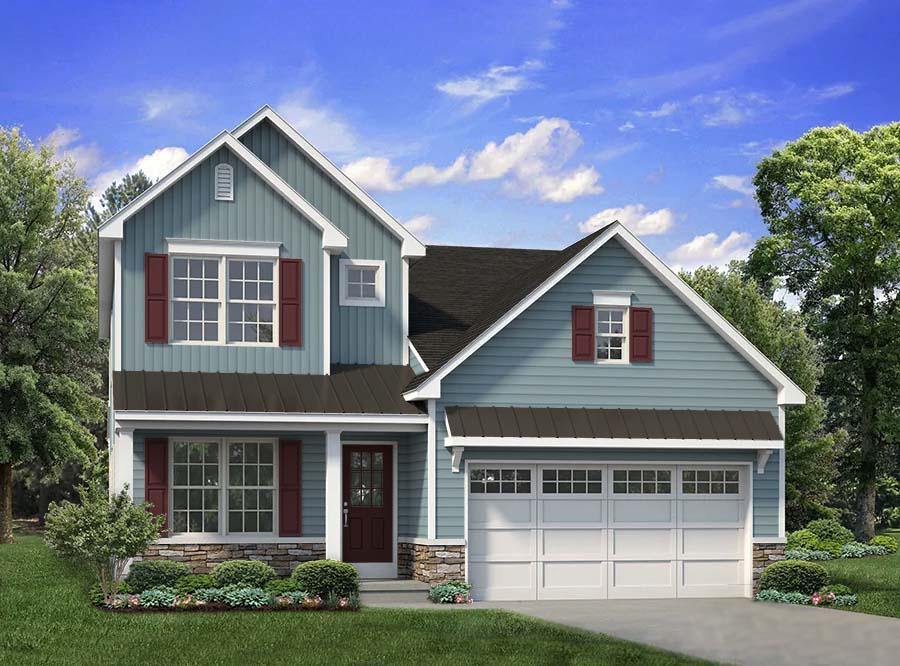 Exterior featured in the Franklyn By Tuskes Homes in Scranton-Wilkes-Barre, PA