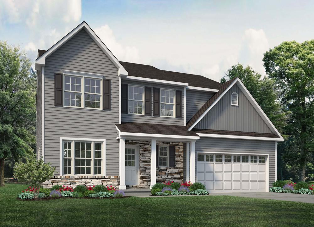 Exterior featured in the Madison By Tuskes Homes in Allentown-Bethlehem, PA