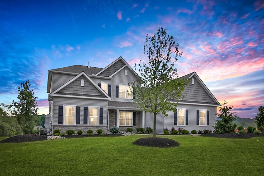 Exterior featured in the Sienna By Tuskes Homes in Allentown-Bethlehem, PA