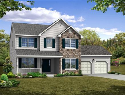 New homes in poconos pa 82 new homes newhomesource for Pocono home builders