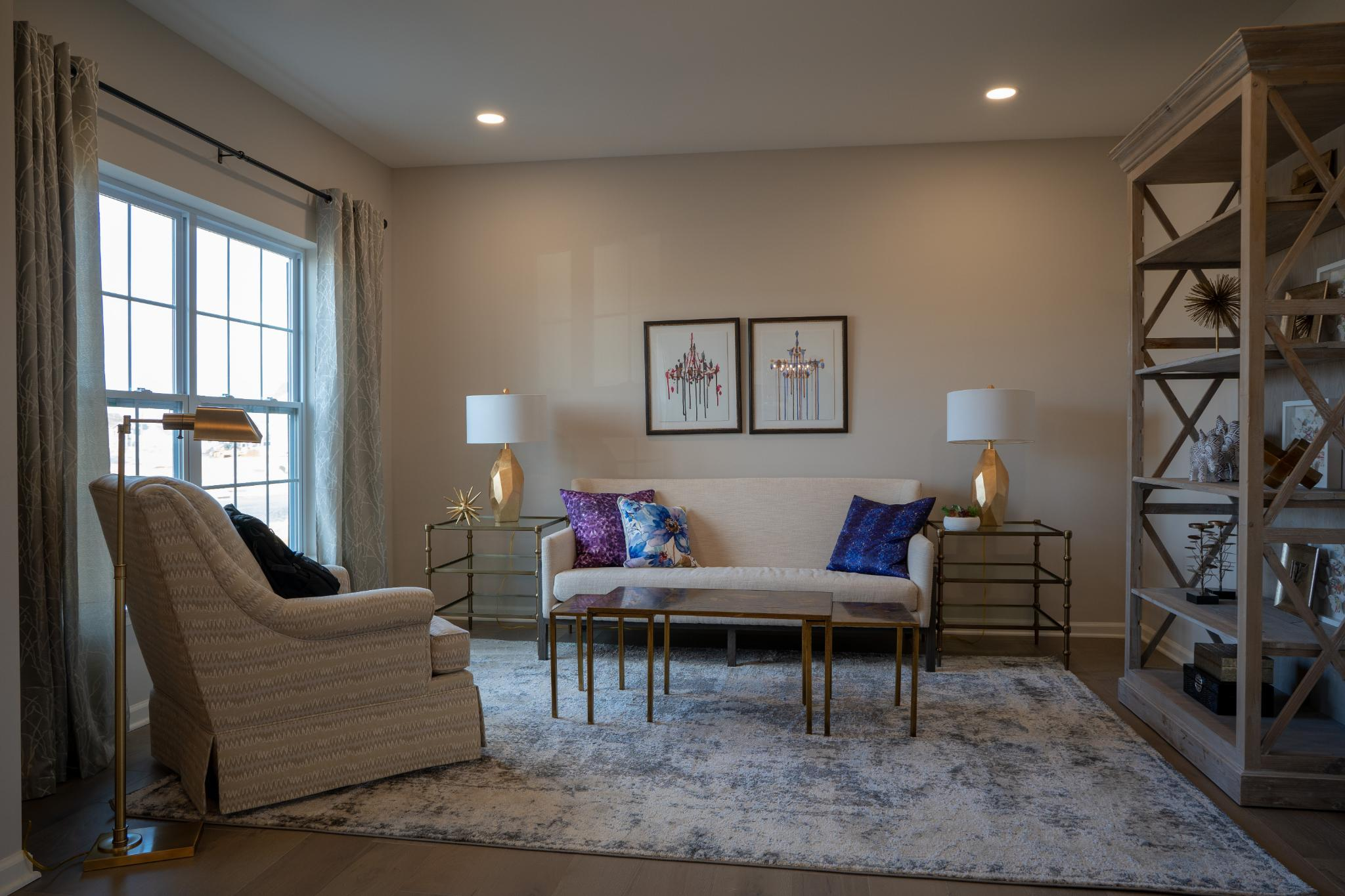 Living Area featured in the Breckenridge Grande Traditional By Tuskes Homes - Infill