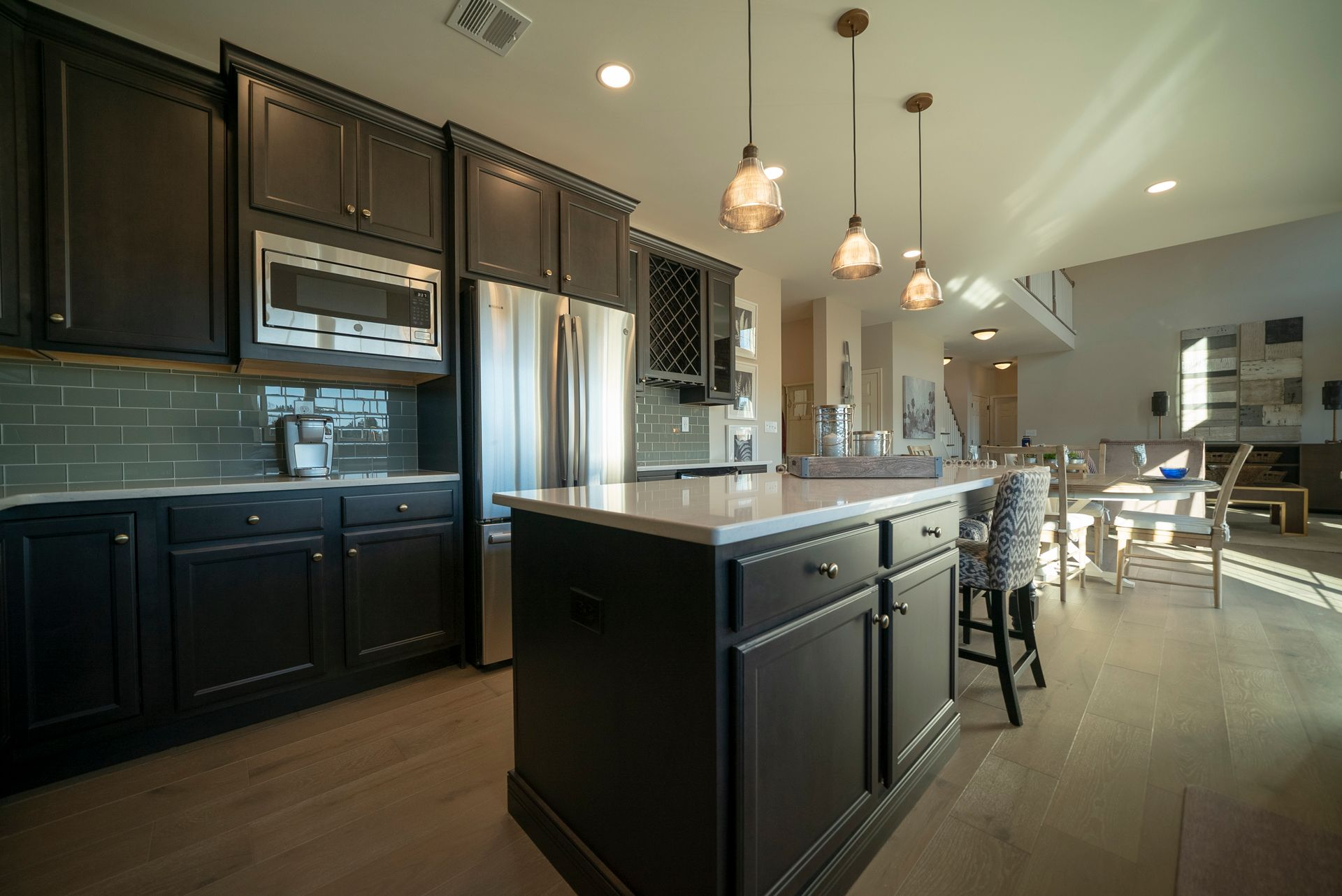 Kitchen featured in the Breckenridge Grande Traditional By Tuskes Homes - Infill