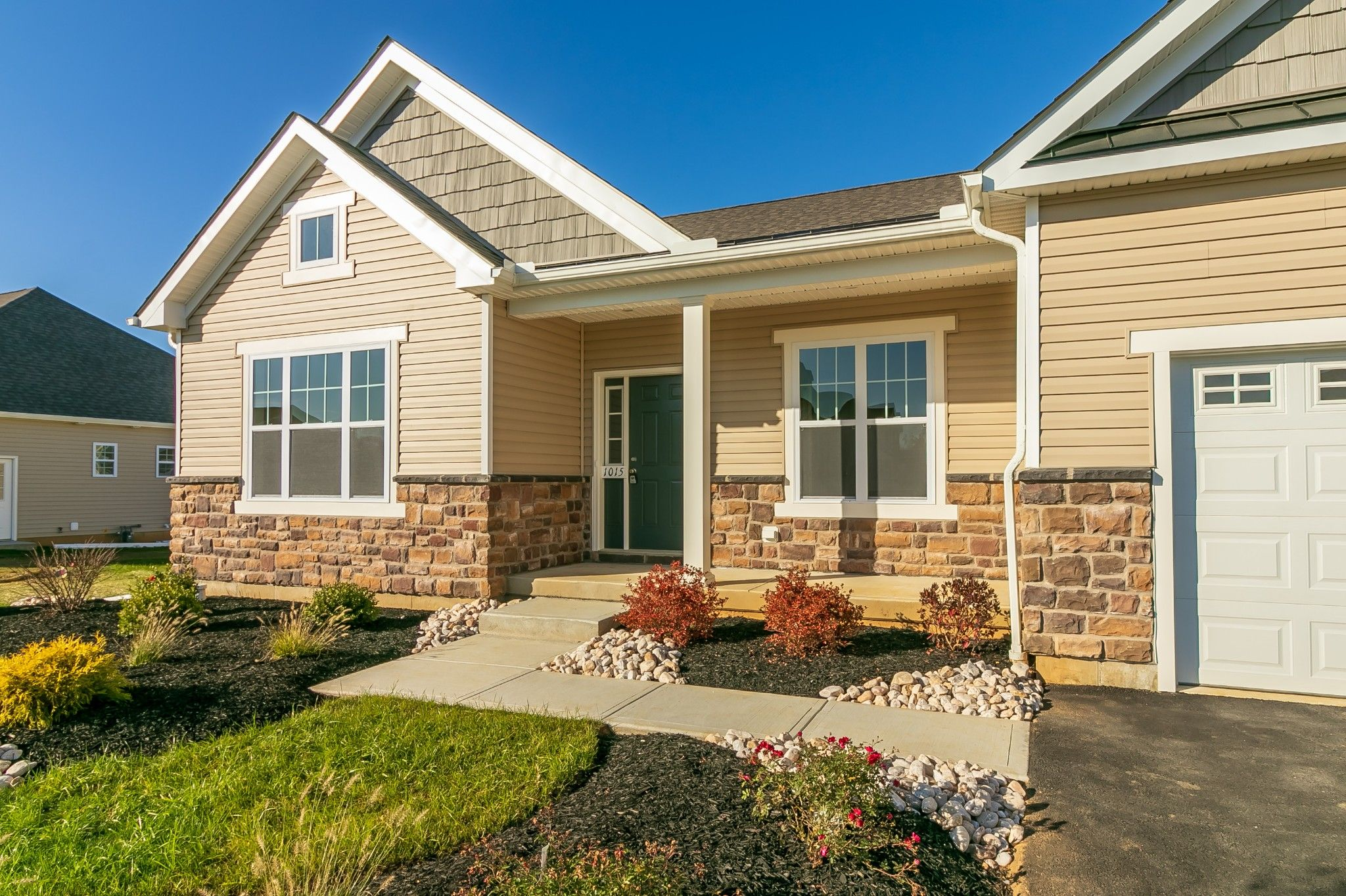 Exterior featured in the Folino Craftsman By Tuskes Homes - Infill in Allentown-Bethlehem, PA