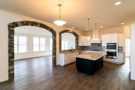 Kitchen-in-Preakness Farmhouse-at-Vistas at Bushkill-in-Nazareth