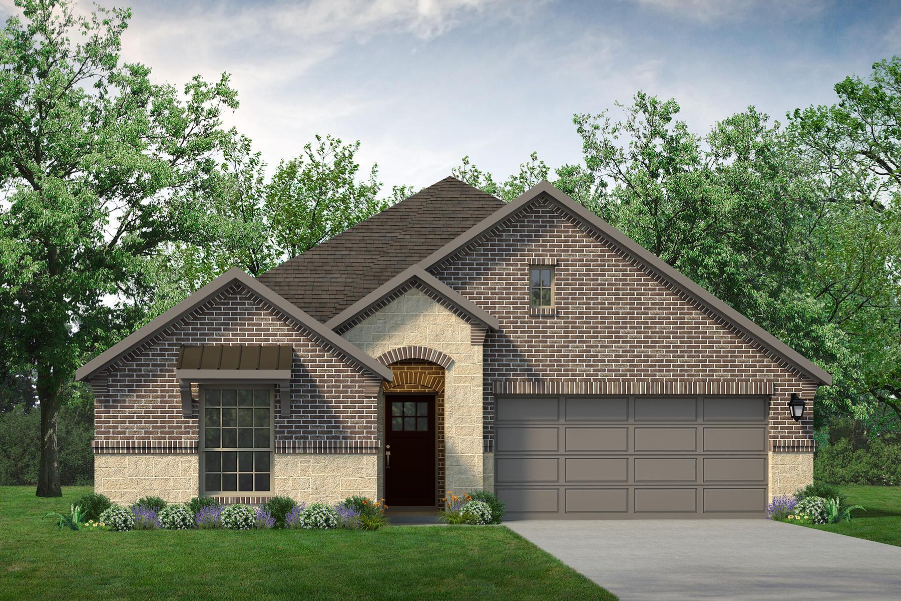 Exterior featured in the Blanco By UnionMain Homes in Dallas, TX