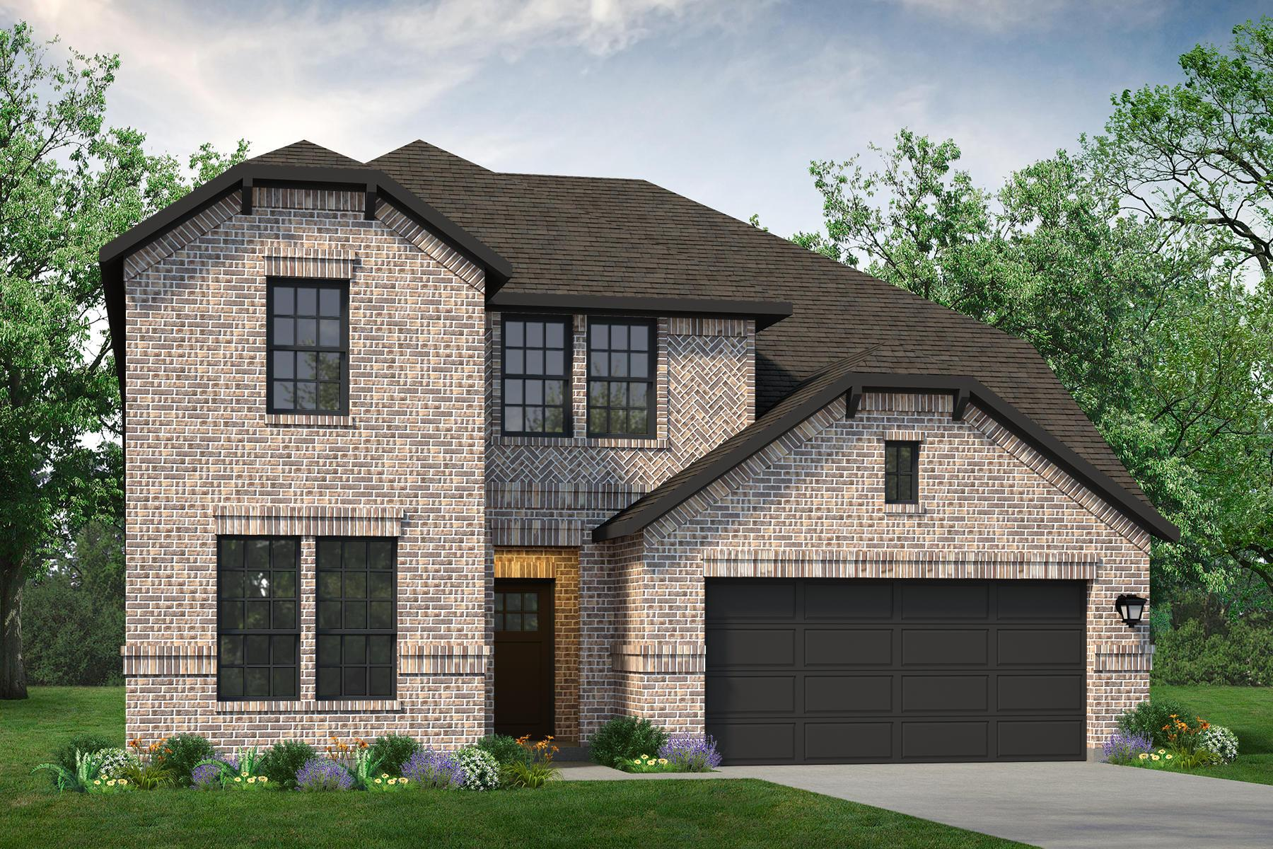 Exterior featured in the Nueces By UnionMain Homes in Dallas, TX