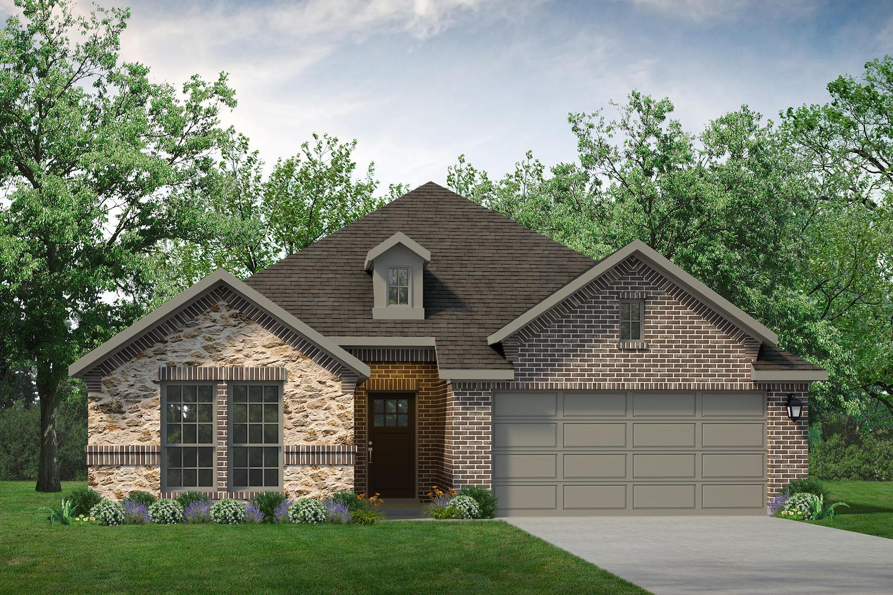 Exterior featured in the Pecos By UnionMain Homes in Dallas, TX