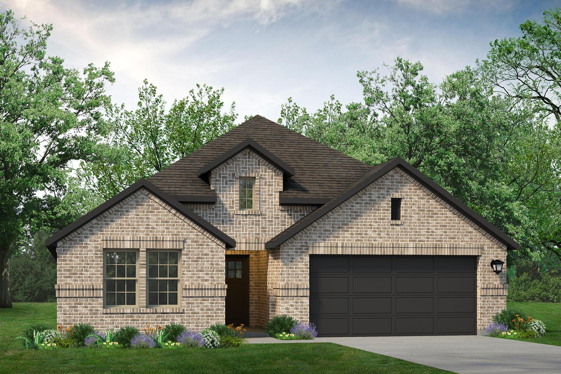 Exterior featured in the Rio Grande By UnionMain Homes in Dallas, TX