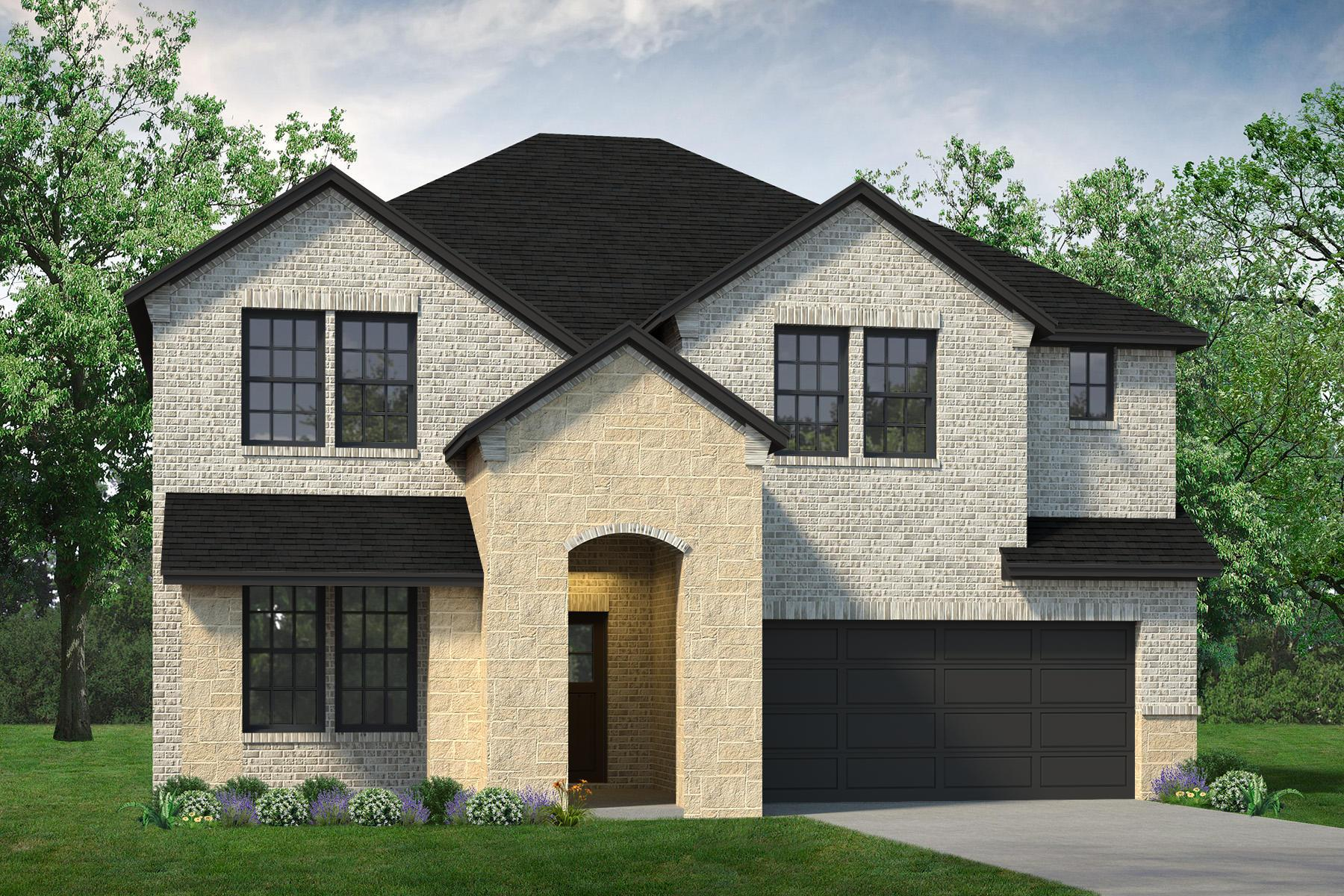 Exterior featured in the Sabine By UnionMain Homes in Dallas, TX