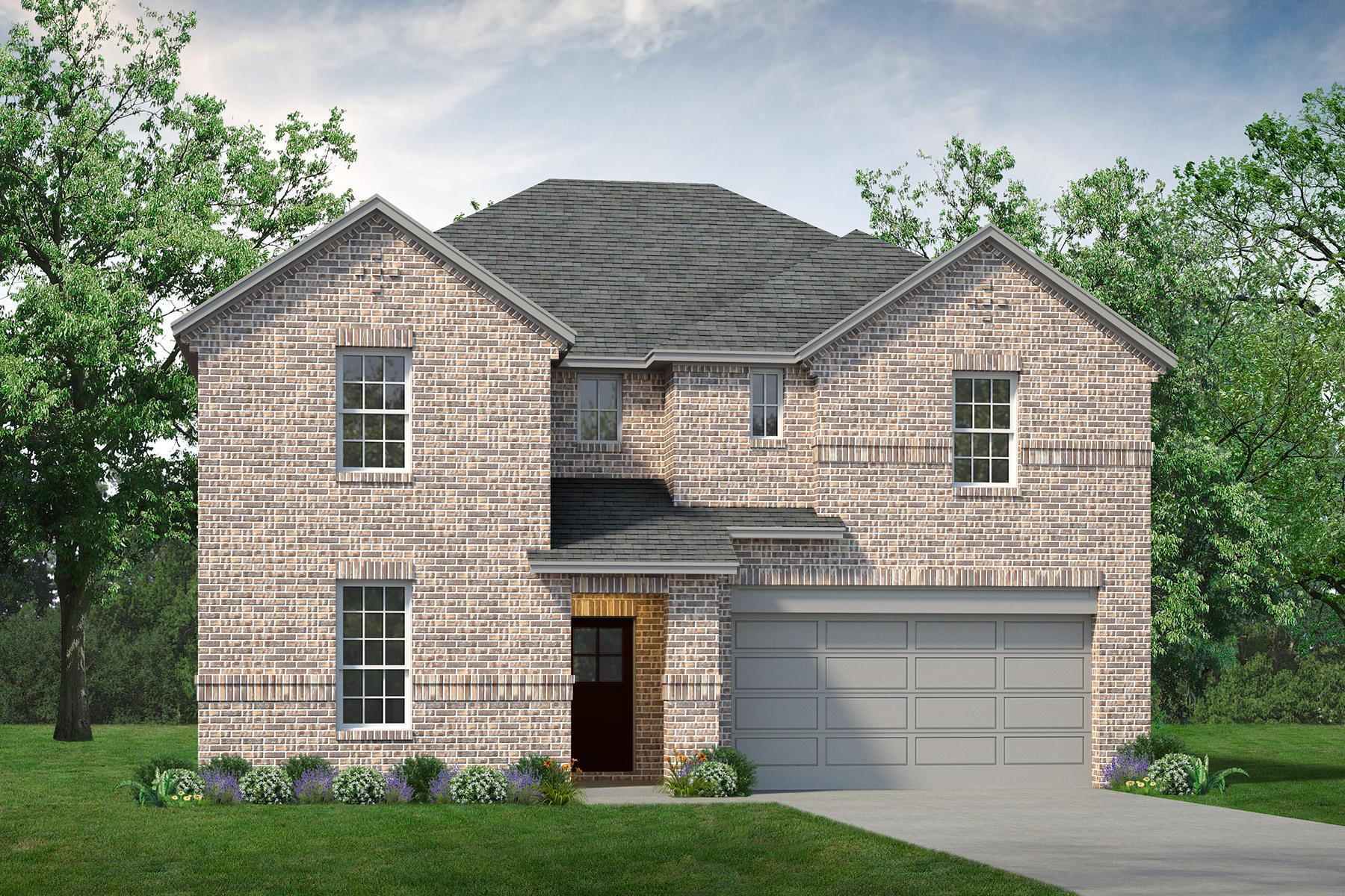 Exterior featured in the Trinity By UnionMain Homes in Dallas, TX