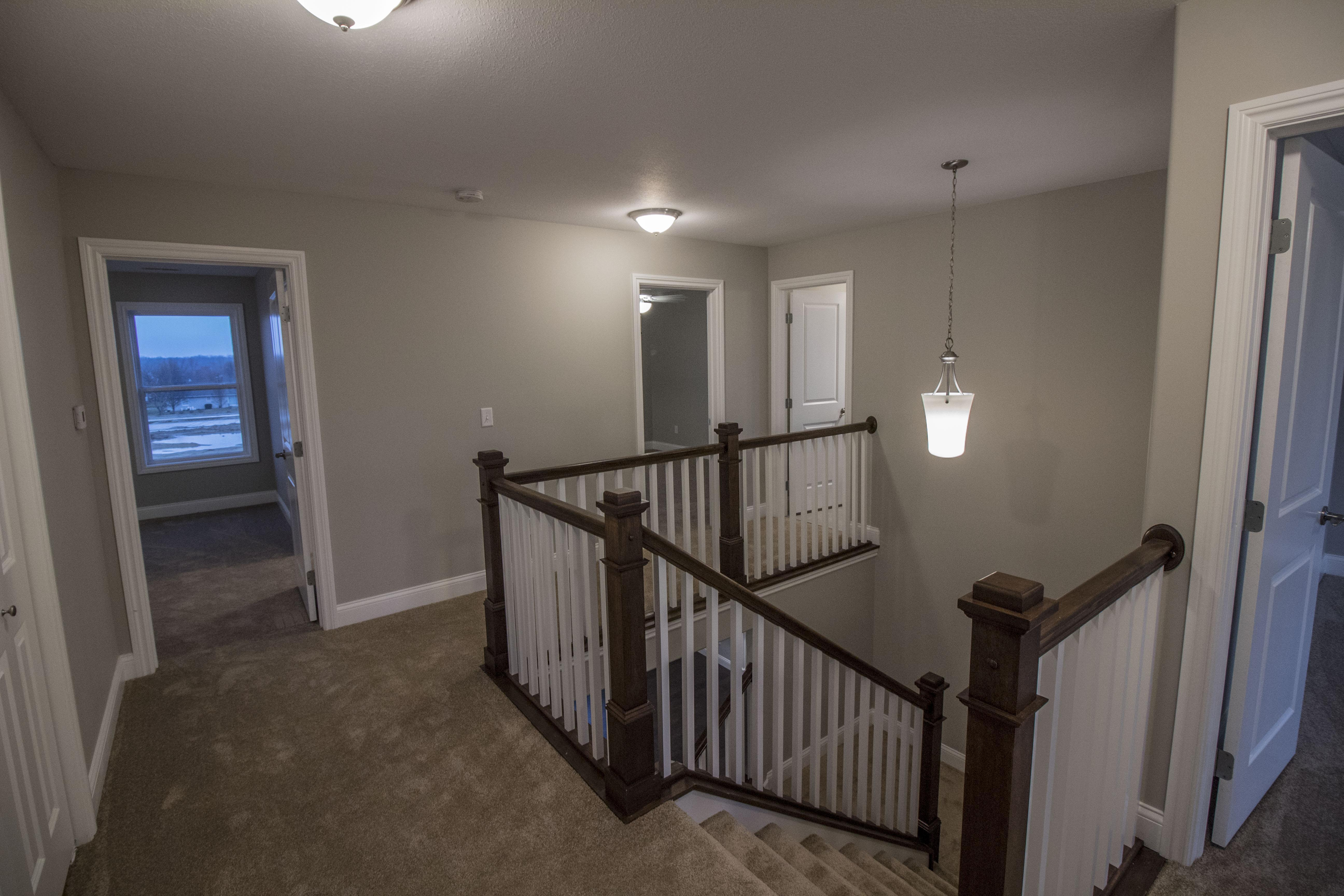 Living Area featured in the Ridgeland 2 By Unlimited Homes in Champaign-Urbana, IL