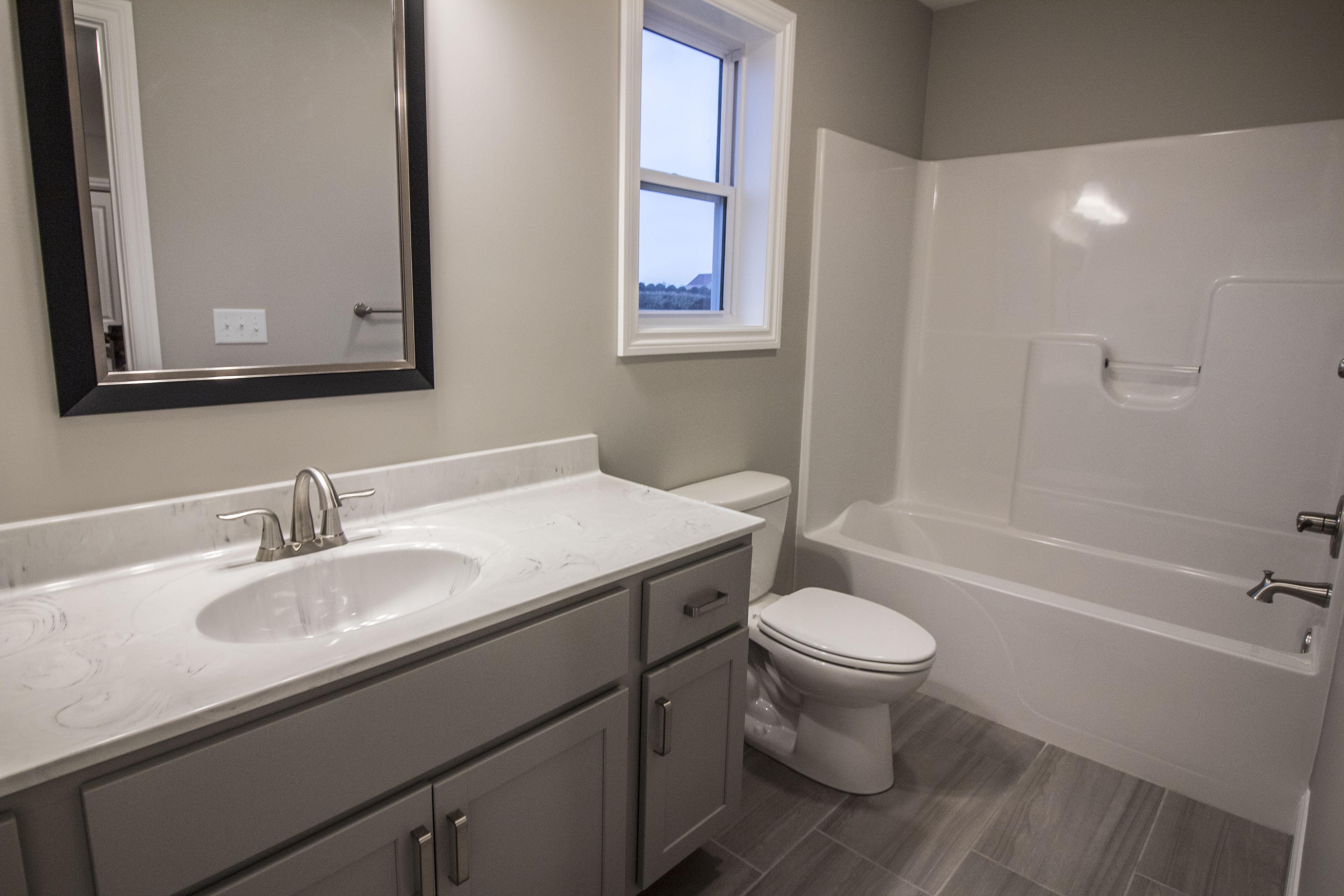 Bathroom featured in the Ridgeland 2 By Unlimited Homes in Champaign-Urbana, IL