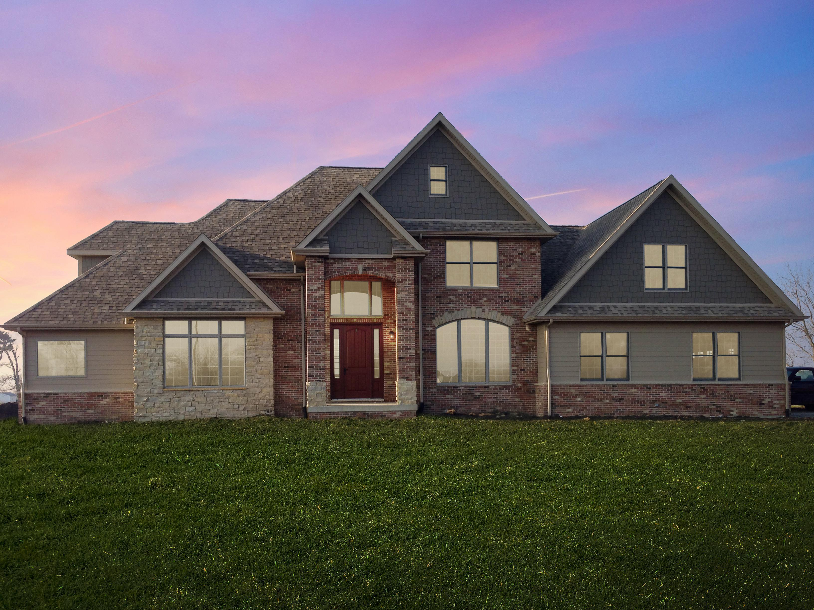 Exterior featured in the Highland By Unlimited Homes in Champaign-Urbana, IL