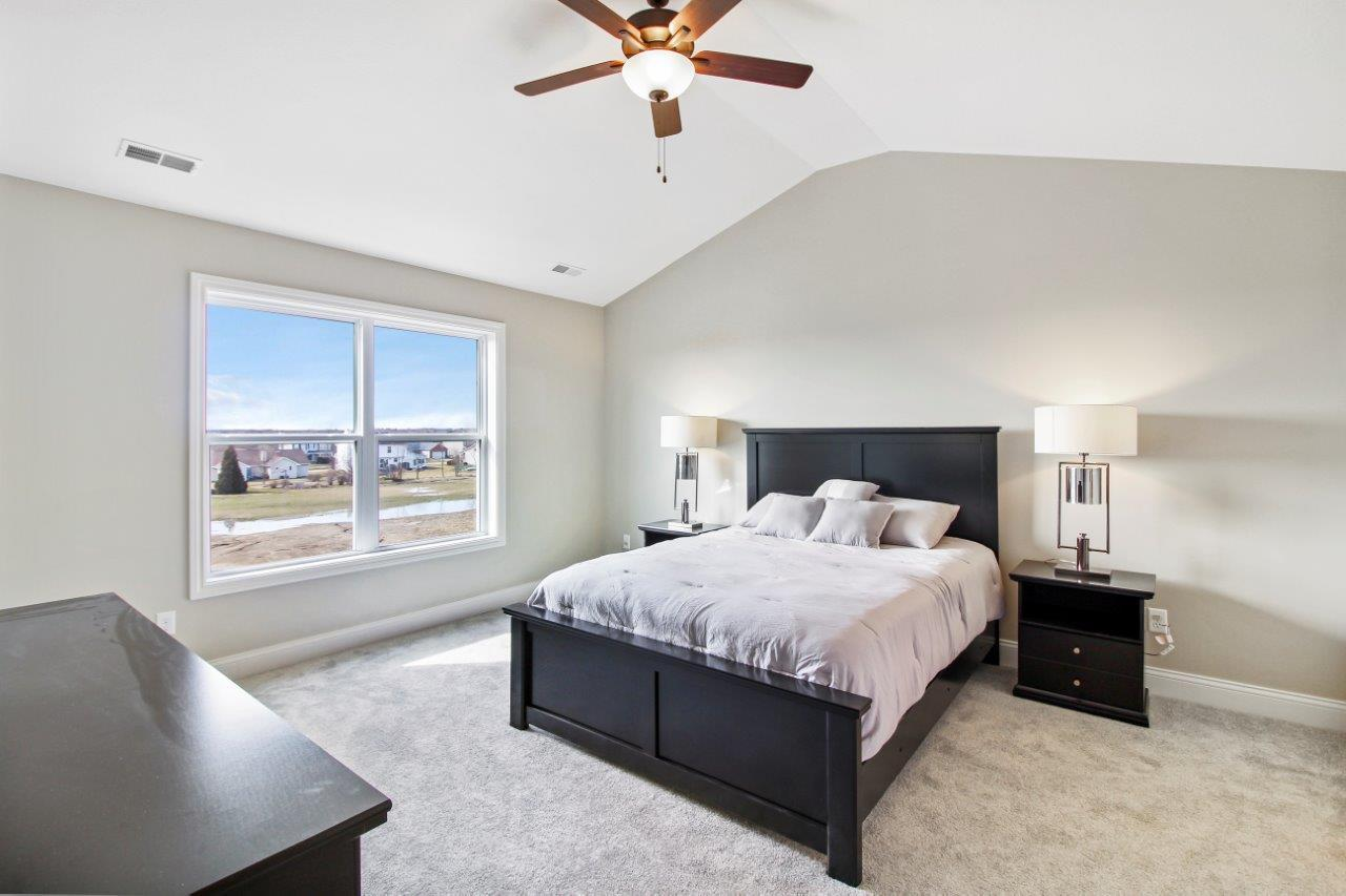 Bedroom featured in the Greenbriar 3 Car By Unlimited Homes in Champaign-Urbana, IL