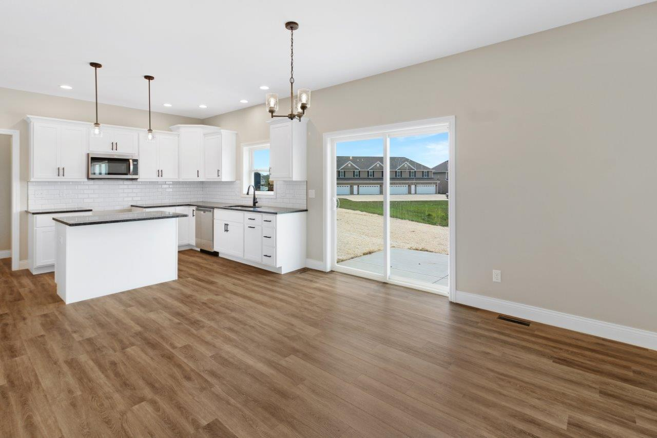 Kitchen featured in the Clifton 2 By Unlimited Homes in Champaign-Urbana, IL