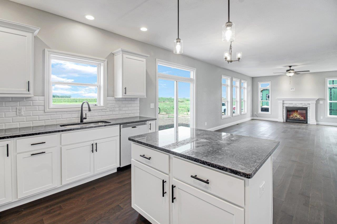 Kitchen featured in the Eldridge By Unlimited Homes in Champaign-Urbana, IL